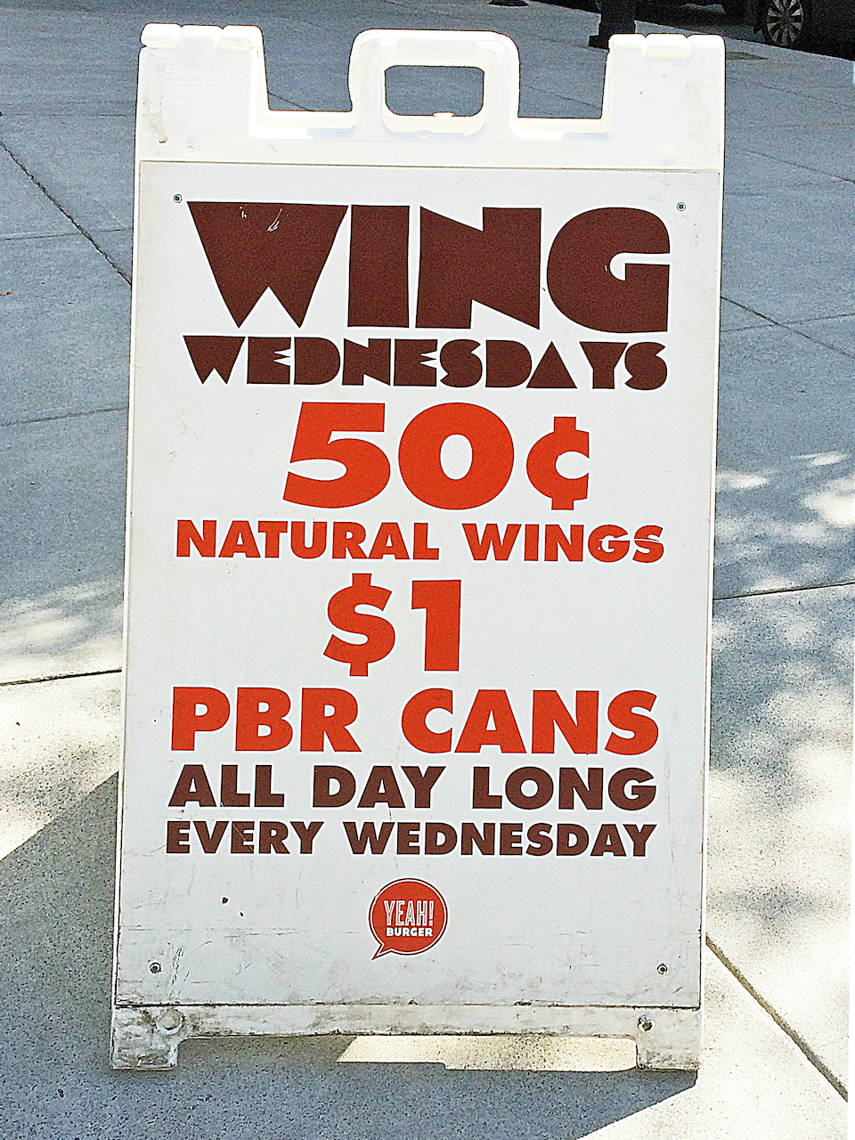 Wing Wednesdays yeah burger styleblueprint atlatna