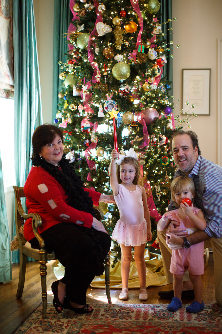 Gay's grandchildren, Sophia, 4, and Josh Jr., 2, are ready for a magical holiday!