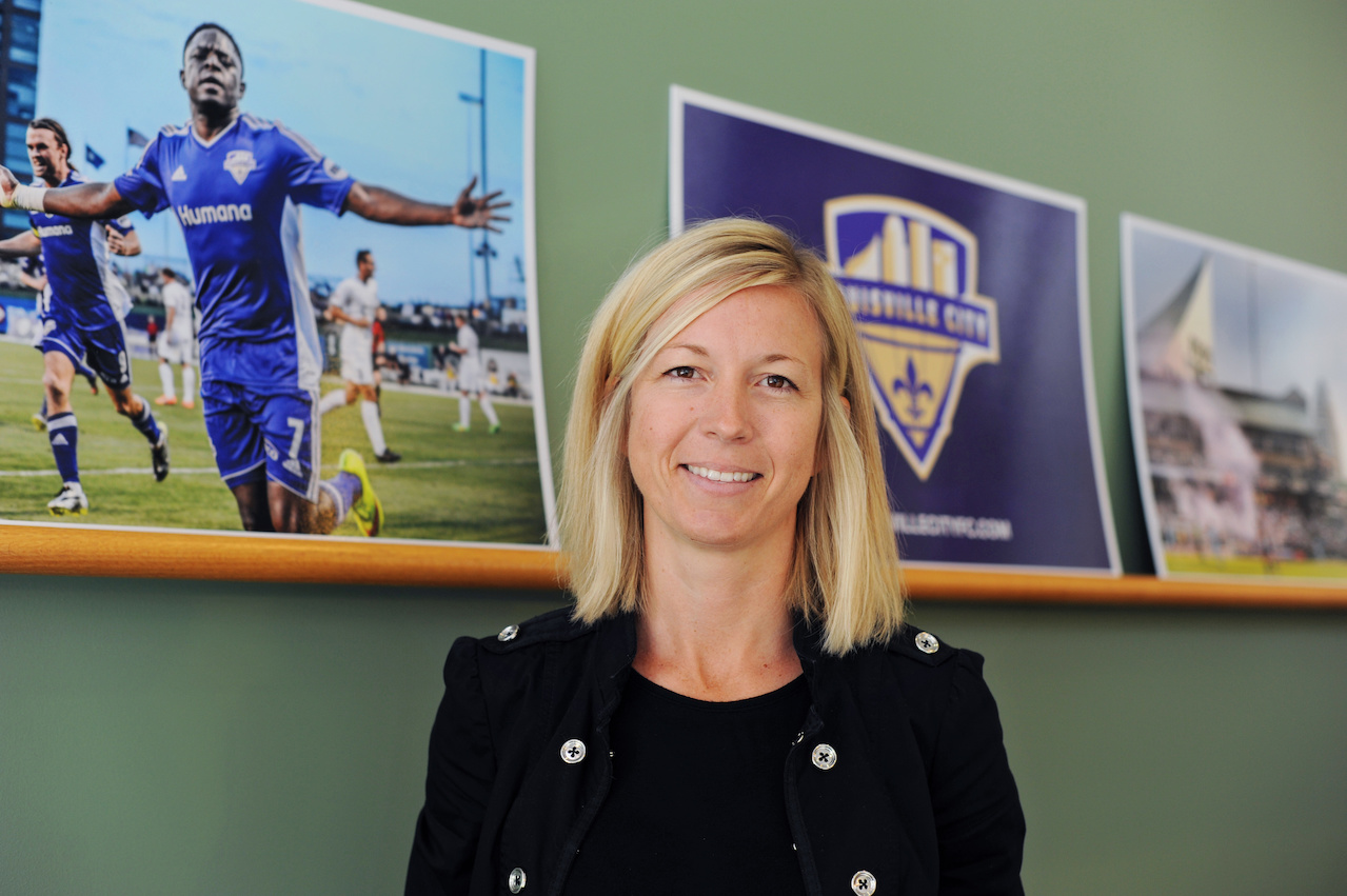 Faces of Louisville Amanda Duffy from Louisville City FC