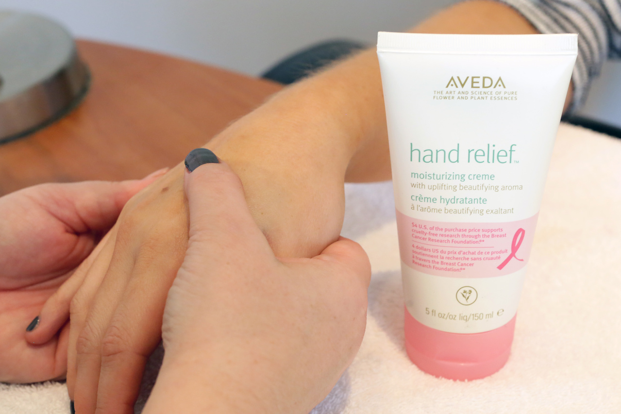 Aveda Hand Relief special edition lotion, $26 at Juve Salon Spa