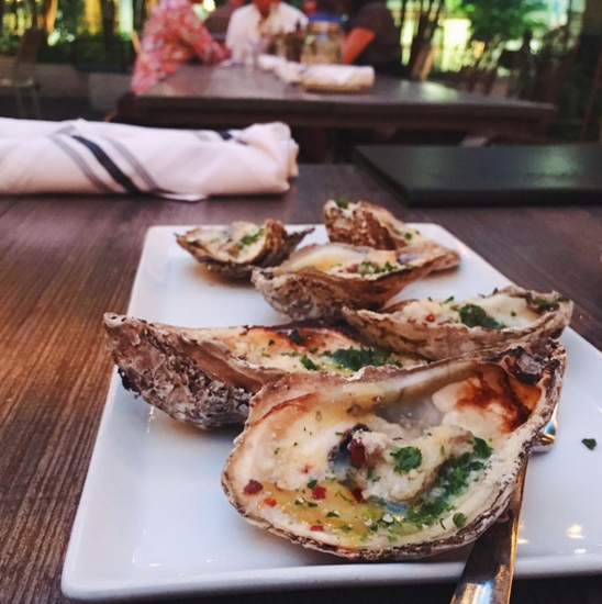 Cara was celebrating summer, her fiance and oysters at Felicia Suzanne on this recent post. Image | @cara_melized