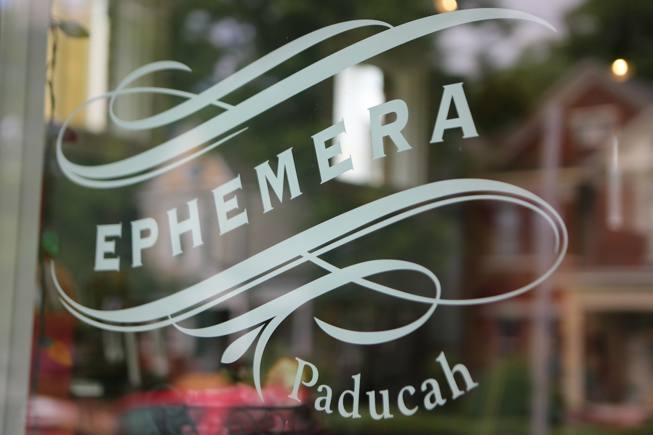 Ephemera is a store and art studio in the Lowertown Arts District of Paducah, KY.