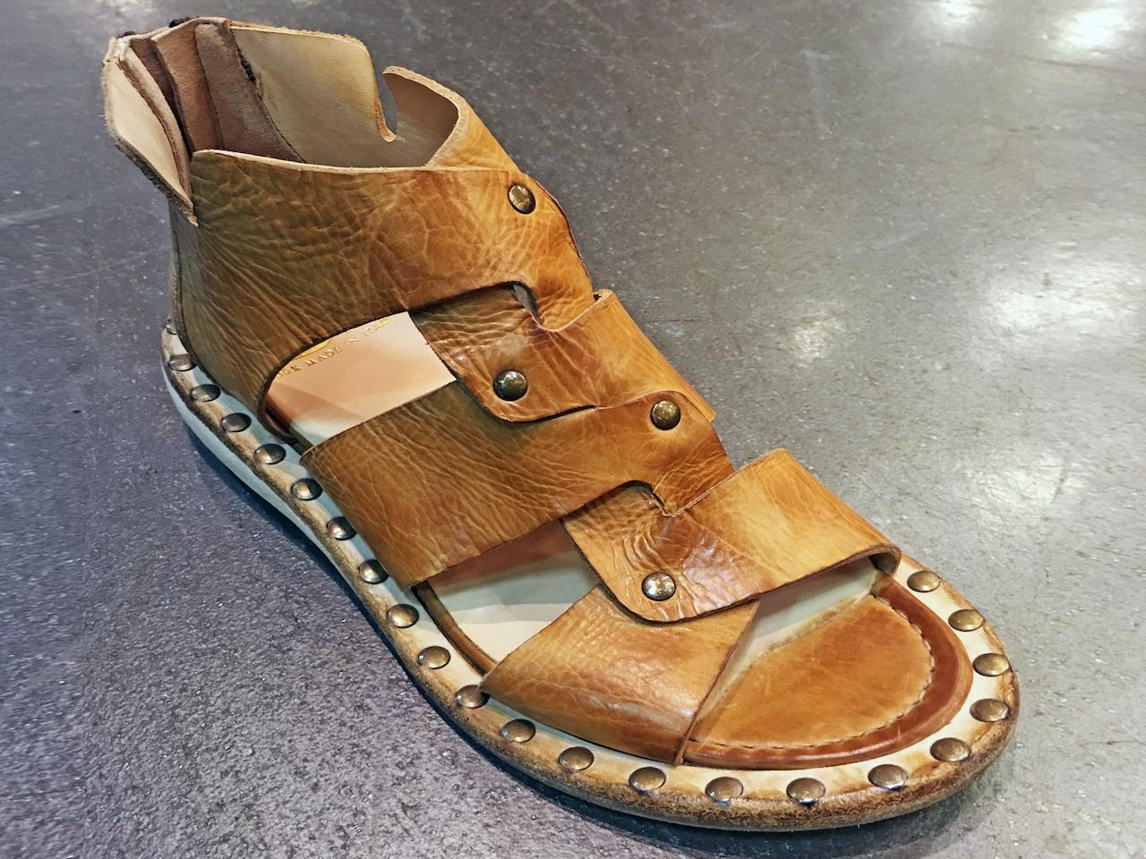 La Bottega sandal, $311, at Betsy Prince