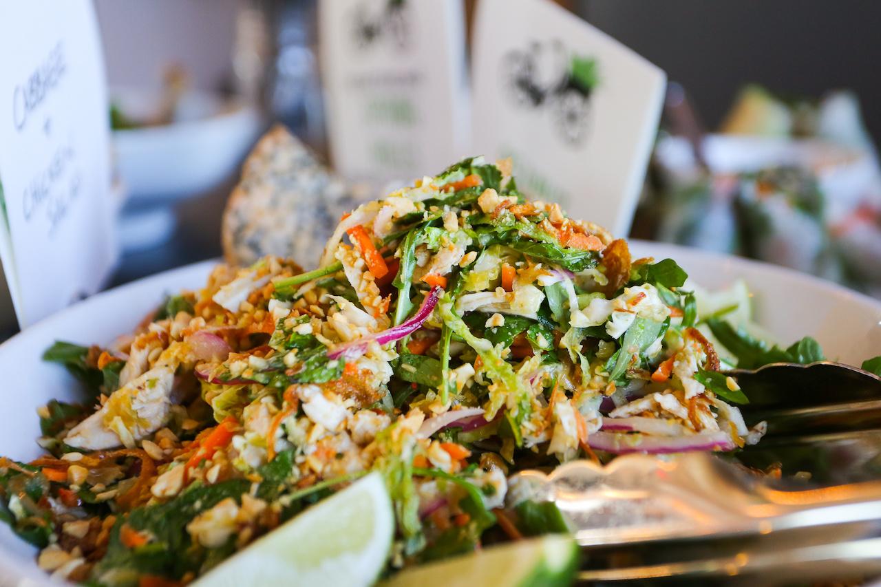 Salad at Vui's Kitchen