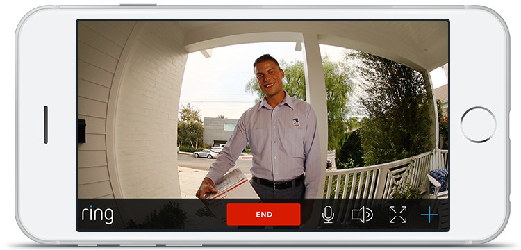 Ring allows you to be home even when you're not.