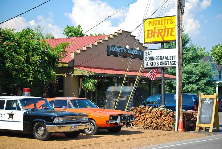 Make a stop at Puckett's Grocery in Leiper's Fork