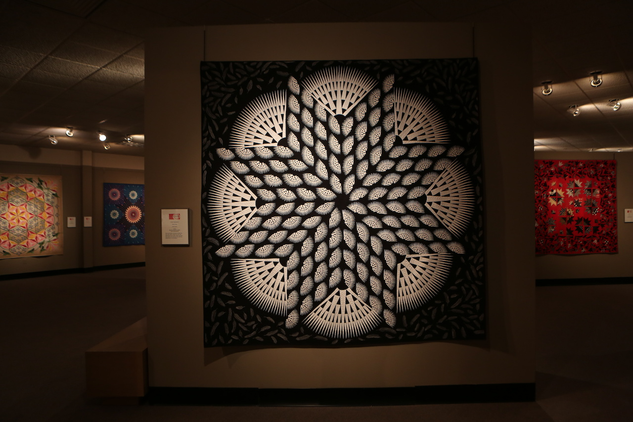 The National Quilt Museum is filled with beautiful, award-winning quilts from all over the world.