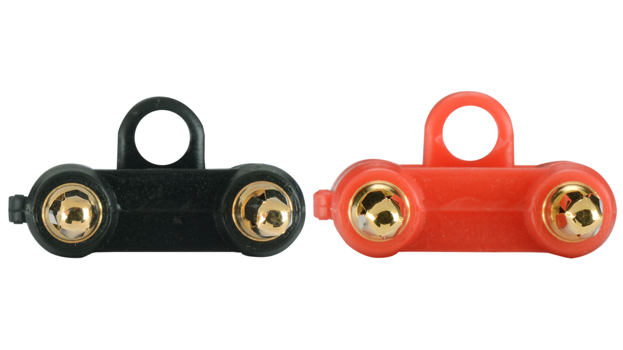 ZB04 - Economy Dual Banana plug pairs for speaker level