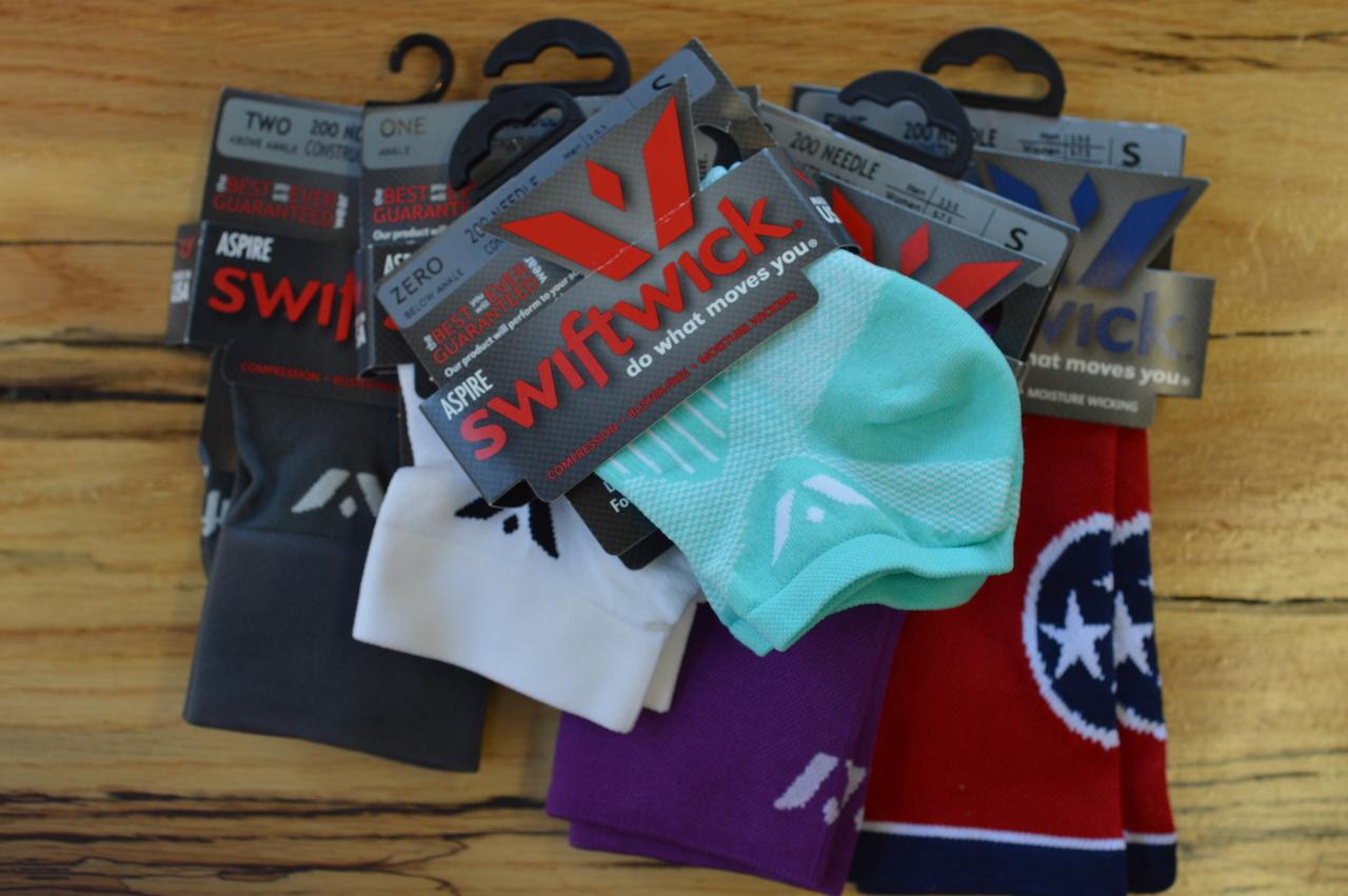 SwiftWick socks, $18 at Breakaway Running