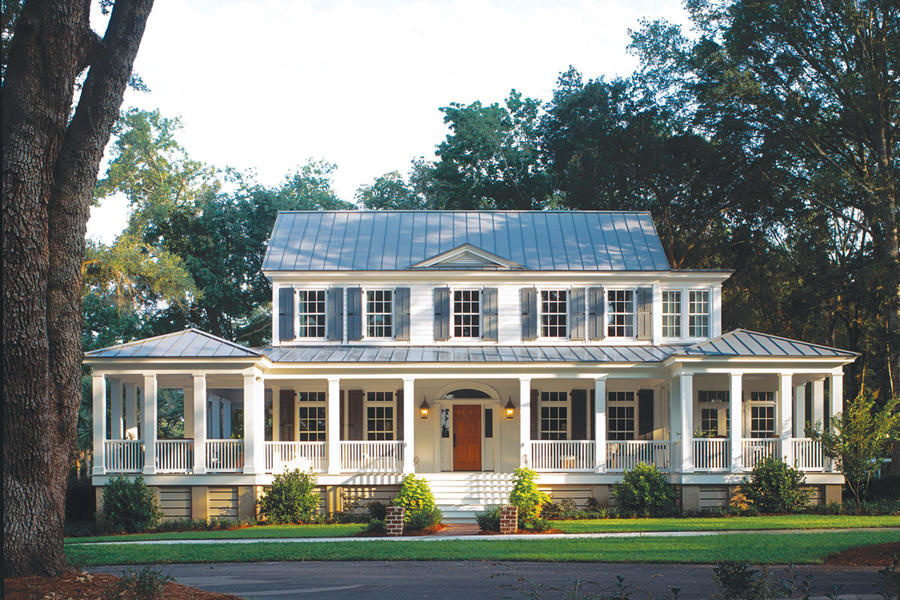 The look and history behind southern home design for Southern home plans designs