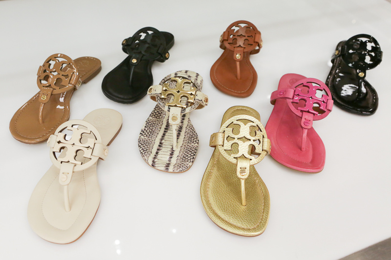 Tory Burch flats are classic and comfy - a perfect combination for summer.
