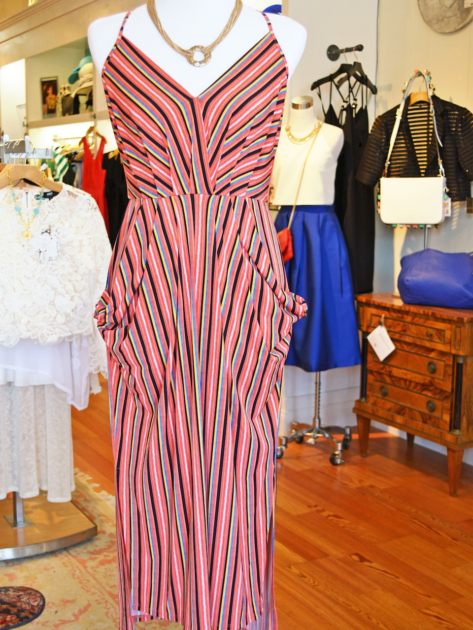 Great summer maxi dress with pockets
