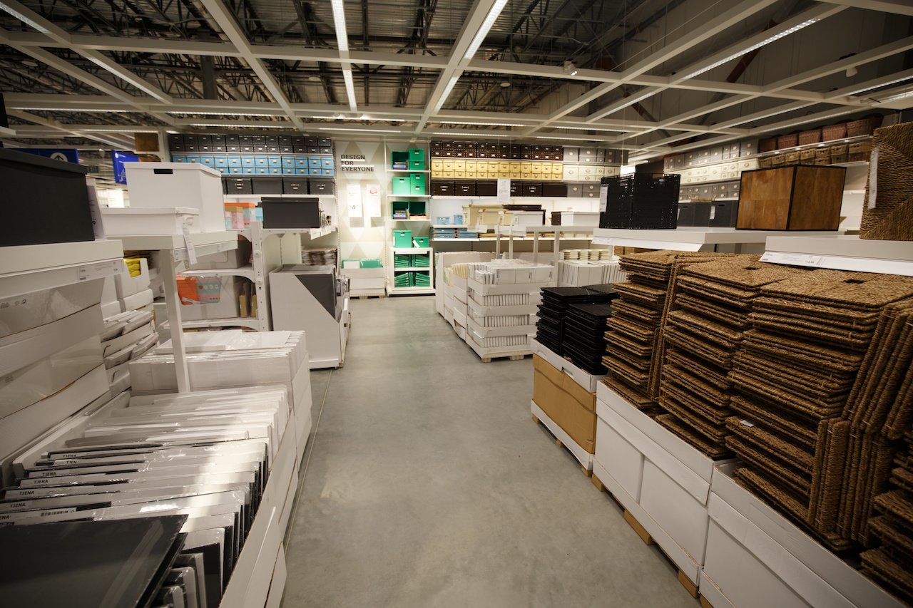 Clever design and packaging, plus the warehouse feel, allows IKEA to offer a variety of price points.