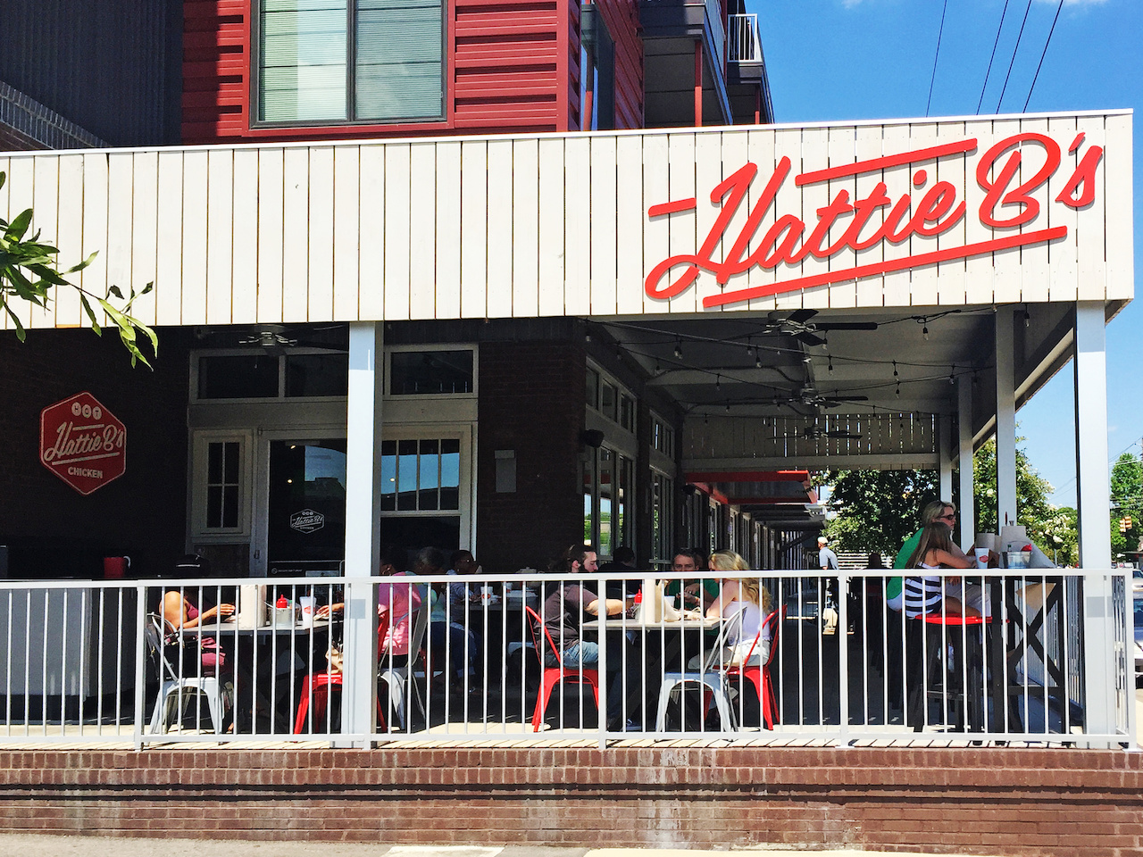 Hattie B's is conveniently located in the Lakeview Neighborhood.