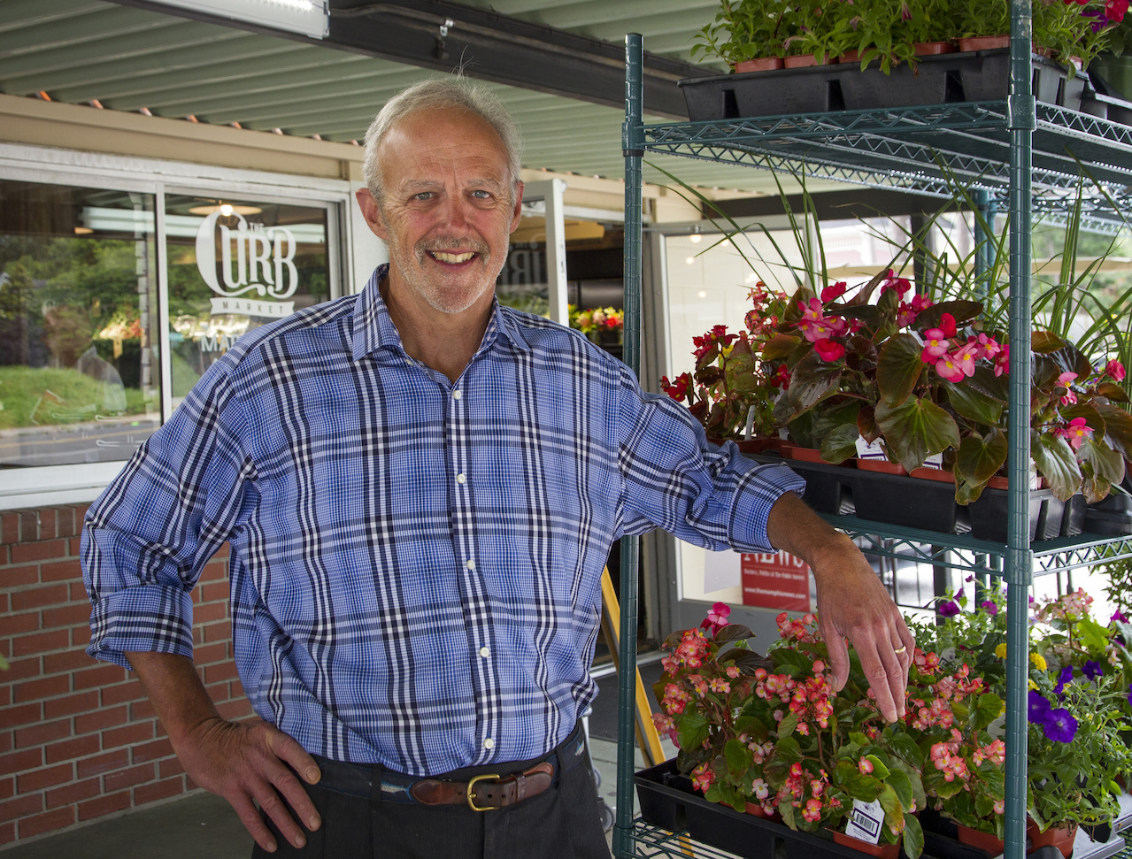 Peter Schutt, owner of The Curb Market