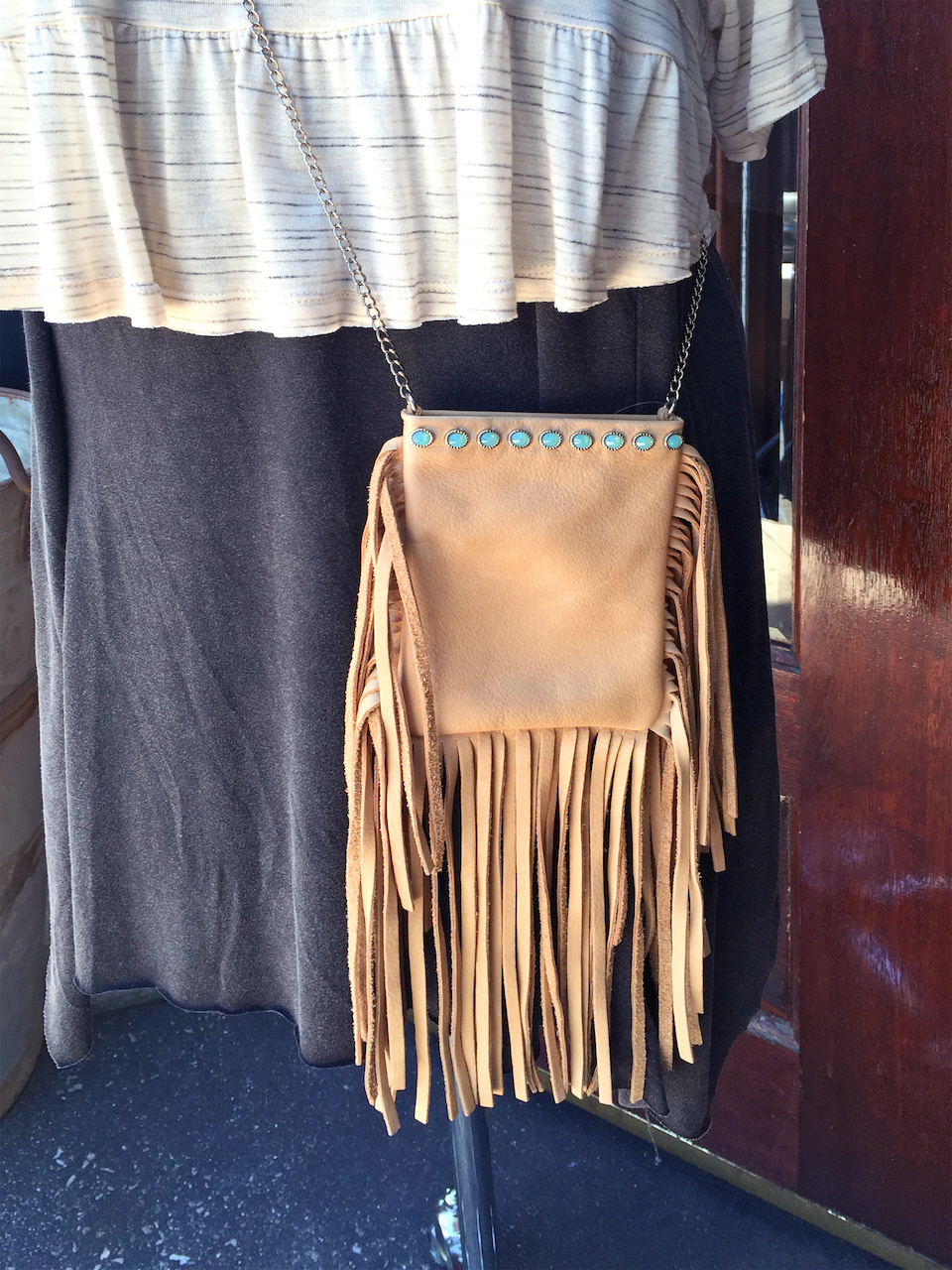 Fringe is a must for every festival, and layering adds to the effortless look of this style.