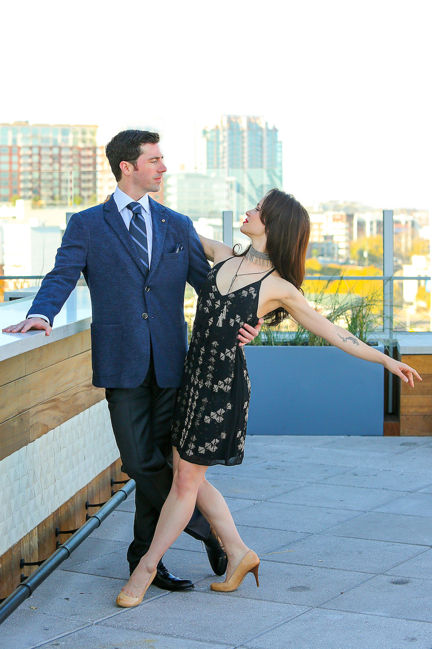 Make this NYE one to remember - strike a pose in a sparkly dress on a swanky rooftop!