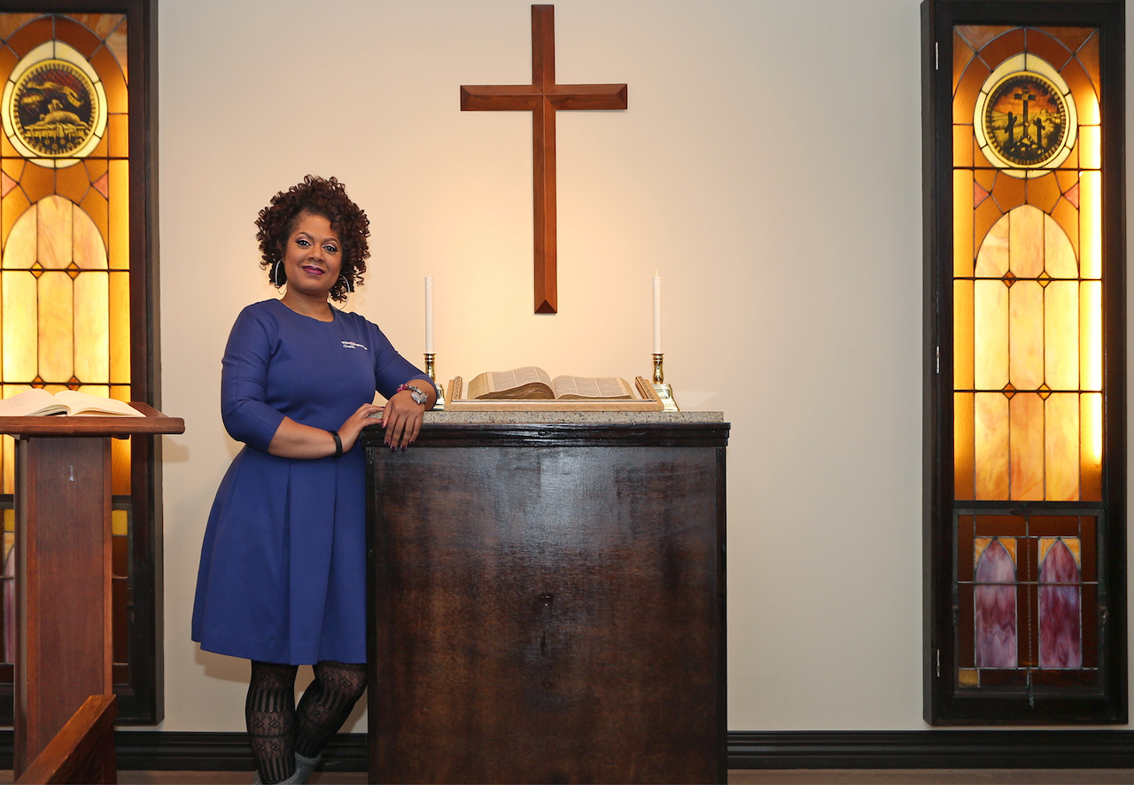 Catina Parrish, Lead Chaplain at TriStar Southern Hills Medical Center and this month's FACE of TriStar