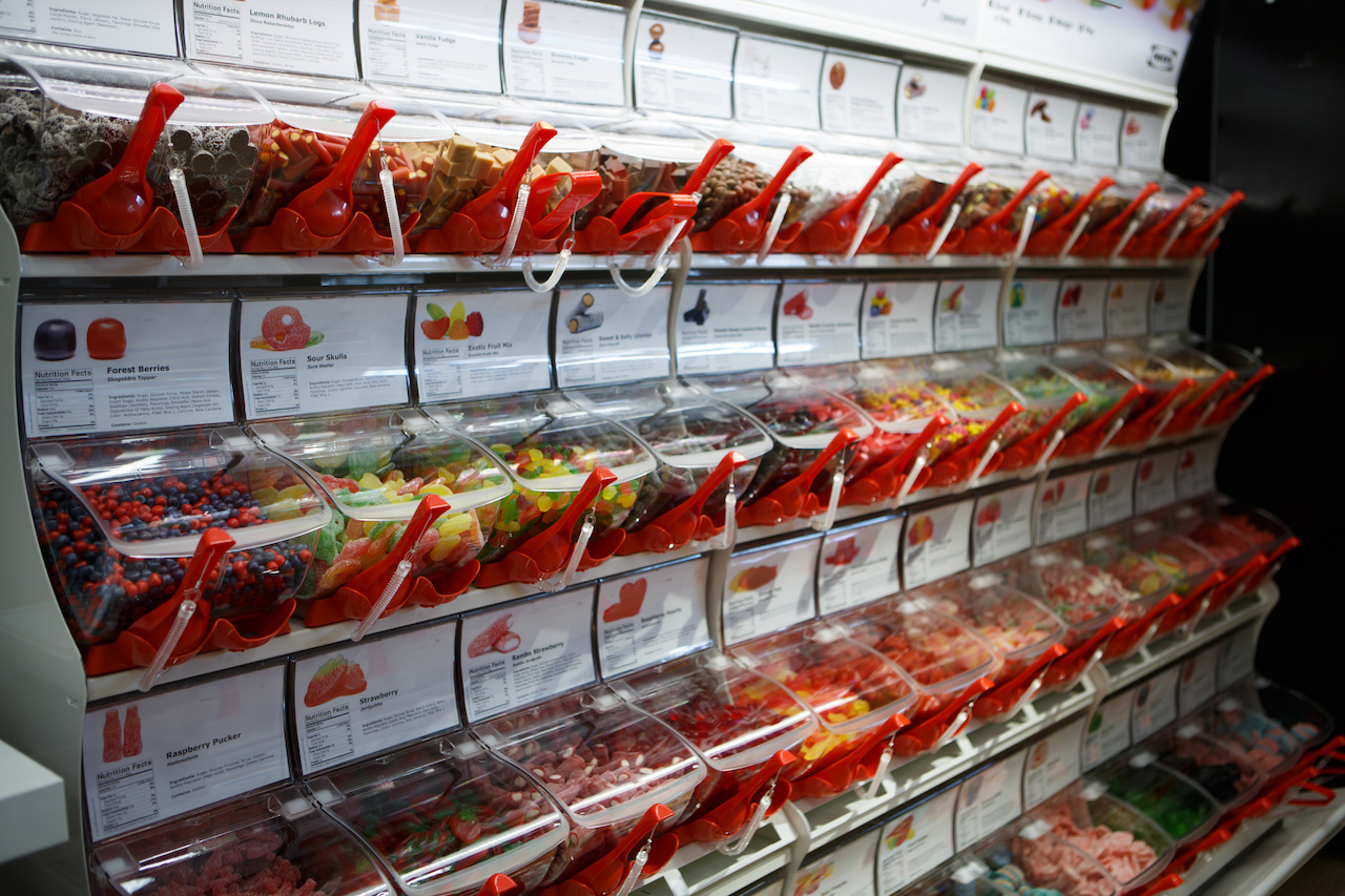 The Swedish tradition of taking the kids to the pick-n-mix candy counter as a weekend treat, called Lördagsgodis, is part of the IKEA experience.