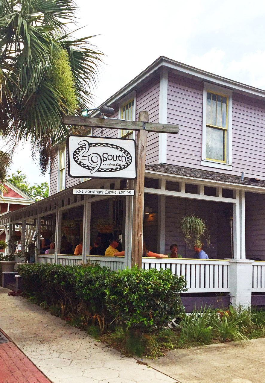 Fernandina Beach, Florida is the gateway for guests of Cumberland Island, and a charming destination in its own right. The farm-to-table restaurant 29 South (https://www.29southrestaurant.com/ ) in Fernandina features produce from the Greyfield Inn gardens.