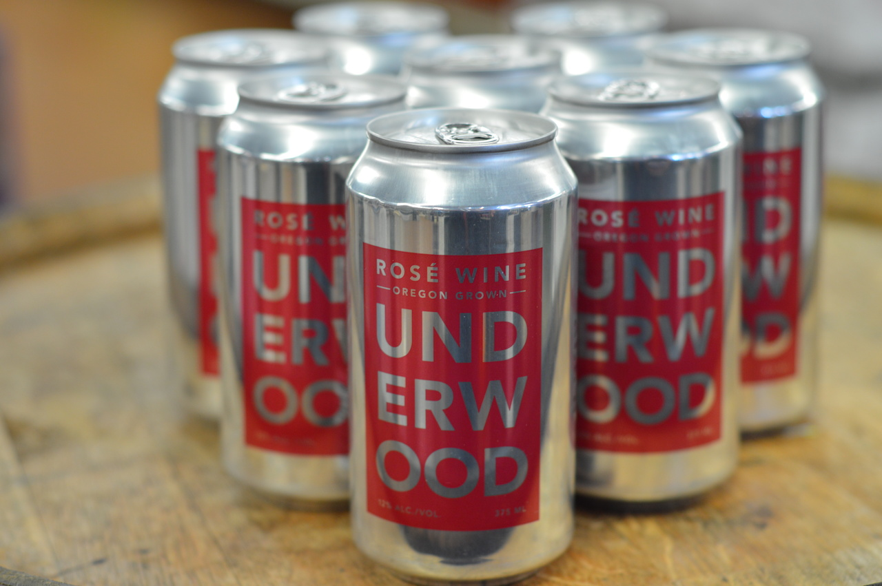 Underwoods canned Rosé wine, $6.99 at Germantown Village Wine and Liquor