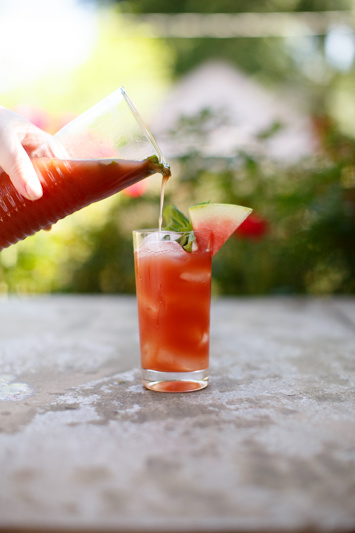 The Watermelon Basil Smash