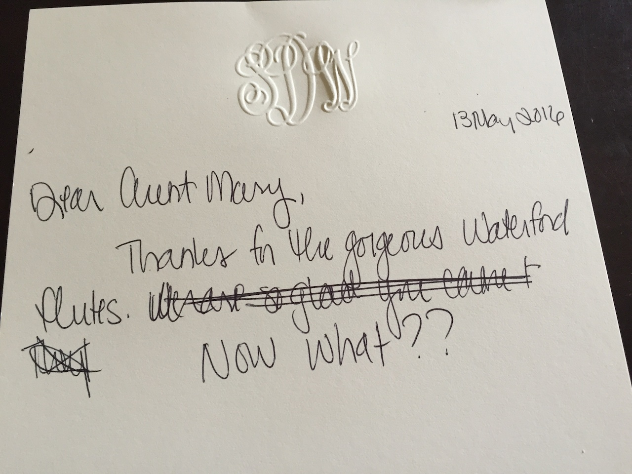 Why A Handwritten Thank You Note Matters So Much