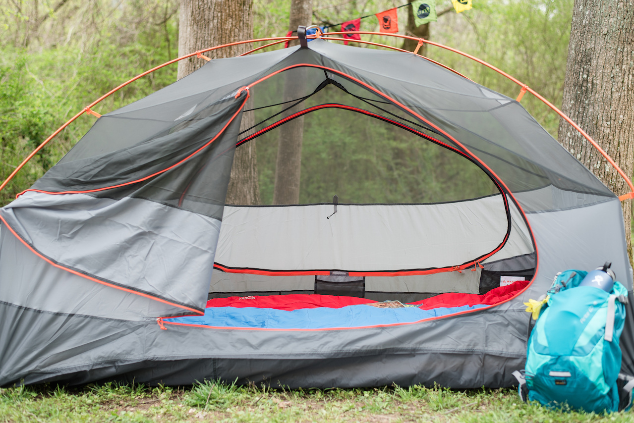"""Rent a tent! Don't let a lack of gear keep you from spending time outdoors,"" says Milan. If you don't own a tent and are not ready to commit to a big purchase, you can rent at tent from Alabama Outdoors."