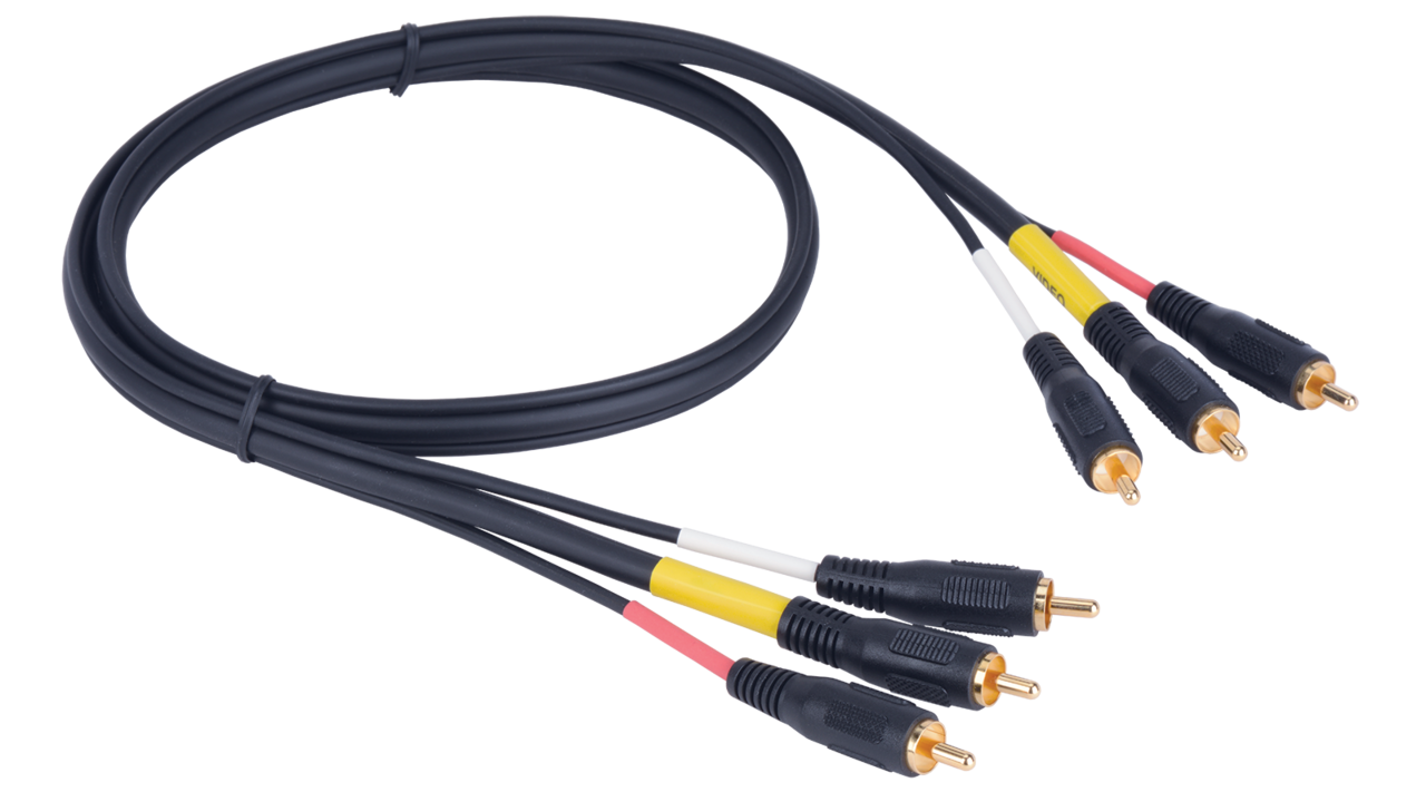 Z100av25ft Liberty Z100 Triplex Rca Audio Video Cable Equalizers Crossovers Wiring Kits Caps And More Click On Picture To