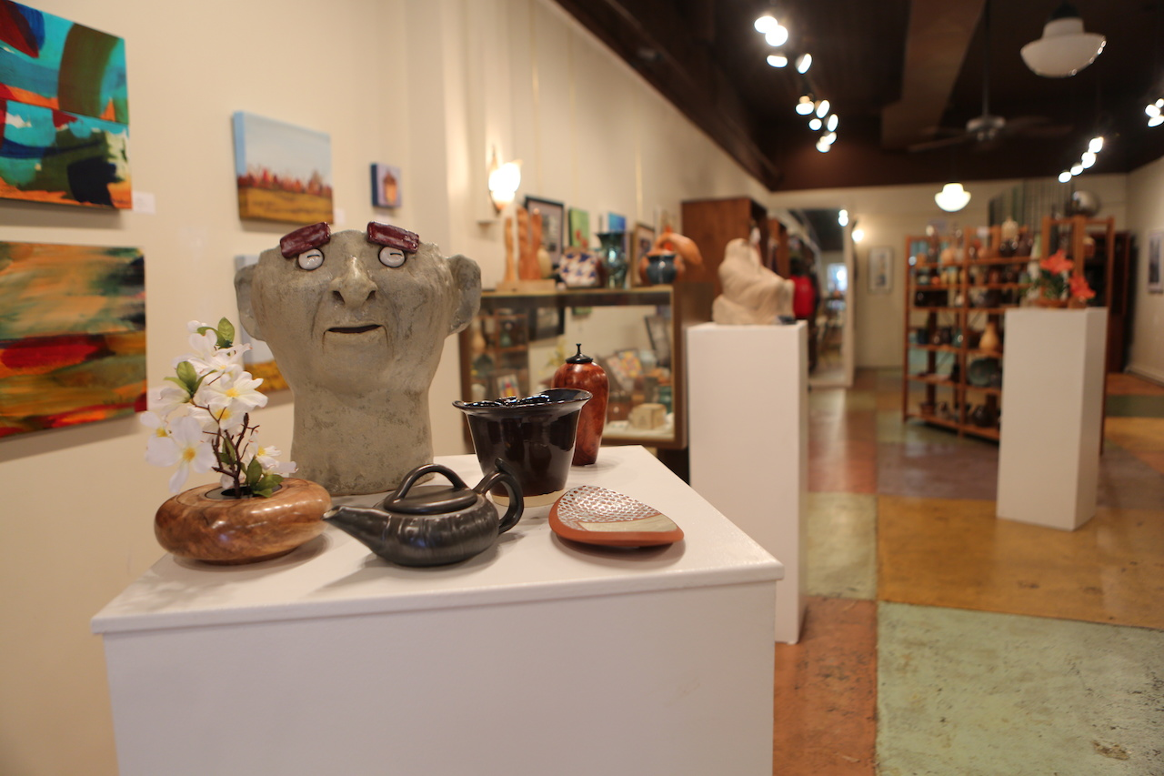 The Artist Guild store features countless treasures by local and visiting artists.