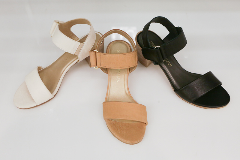 Chunky heels work with everything from skirts to white jeans; this is the shoe you want in multiple colors!