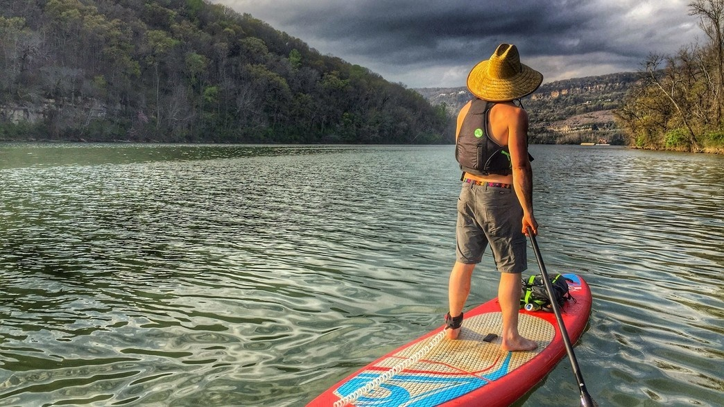 Paddleboarding is one of the best way to experience Tennessee River Gorge