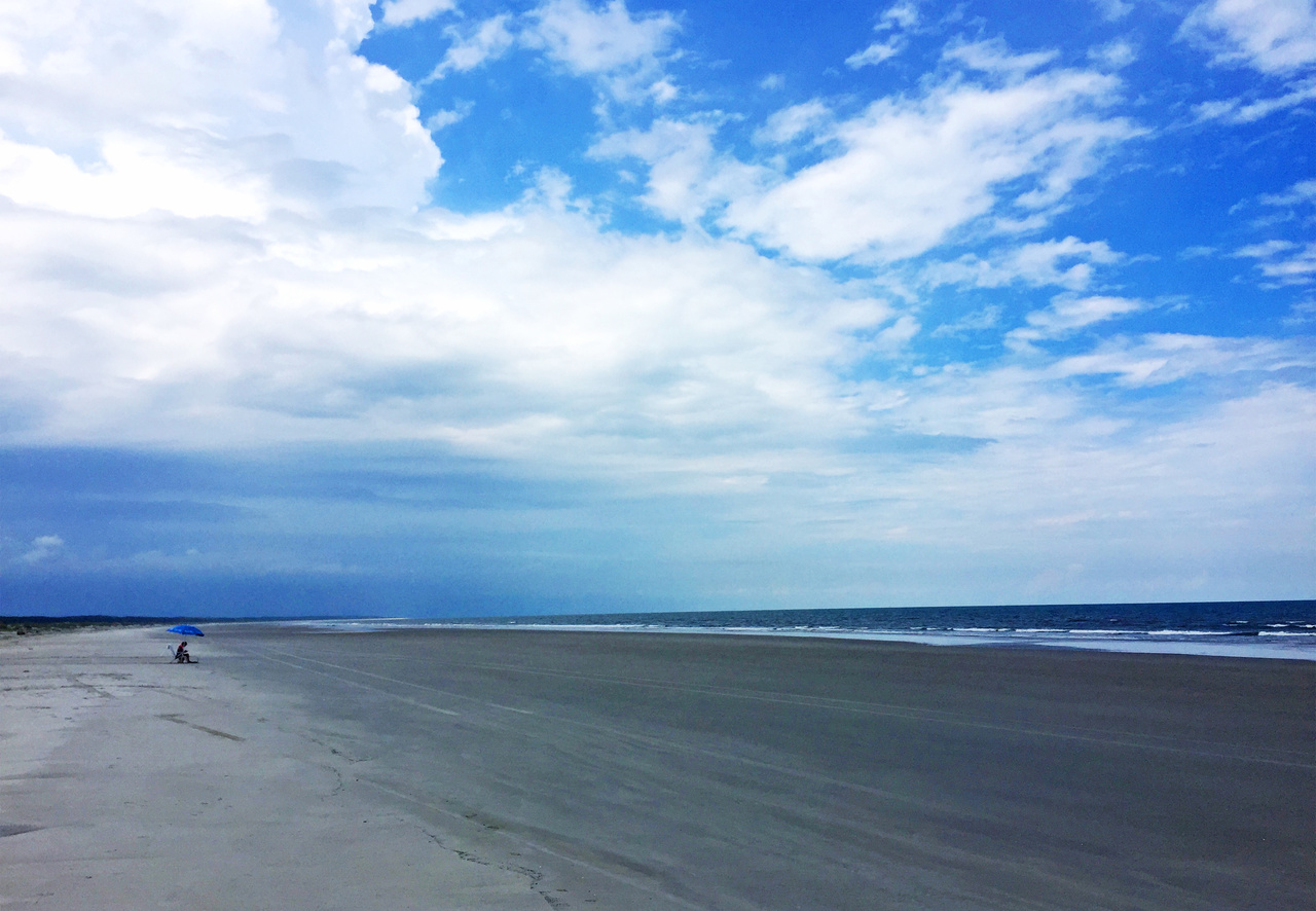 Cumberland Island is only 18 miles long, but its rugged, unpopulated beaches are one reason people like to visit.