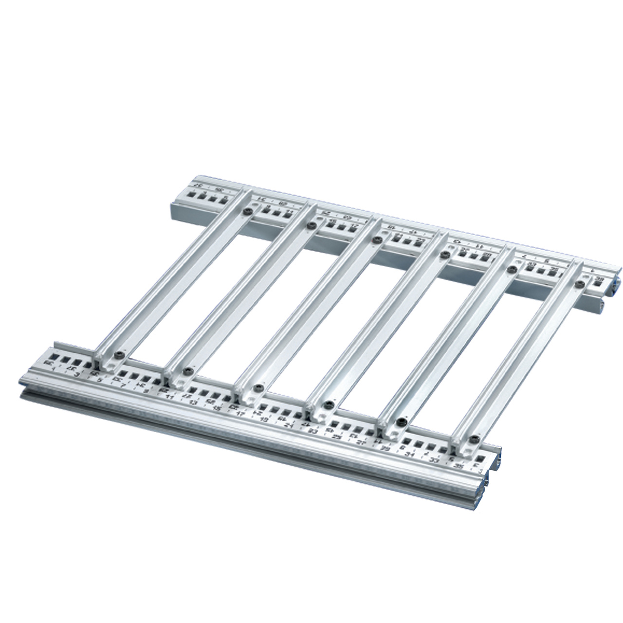 Image for Guide rails, one-piece, for heavy assemblies, robust version from Schroff - North America