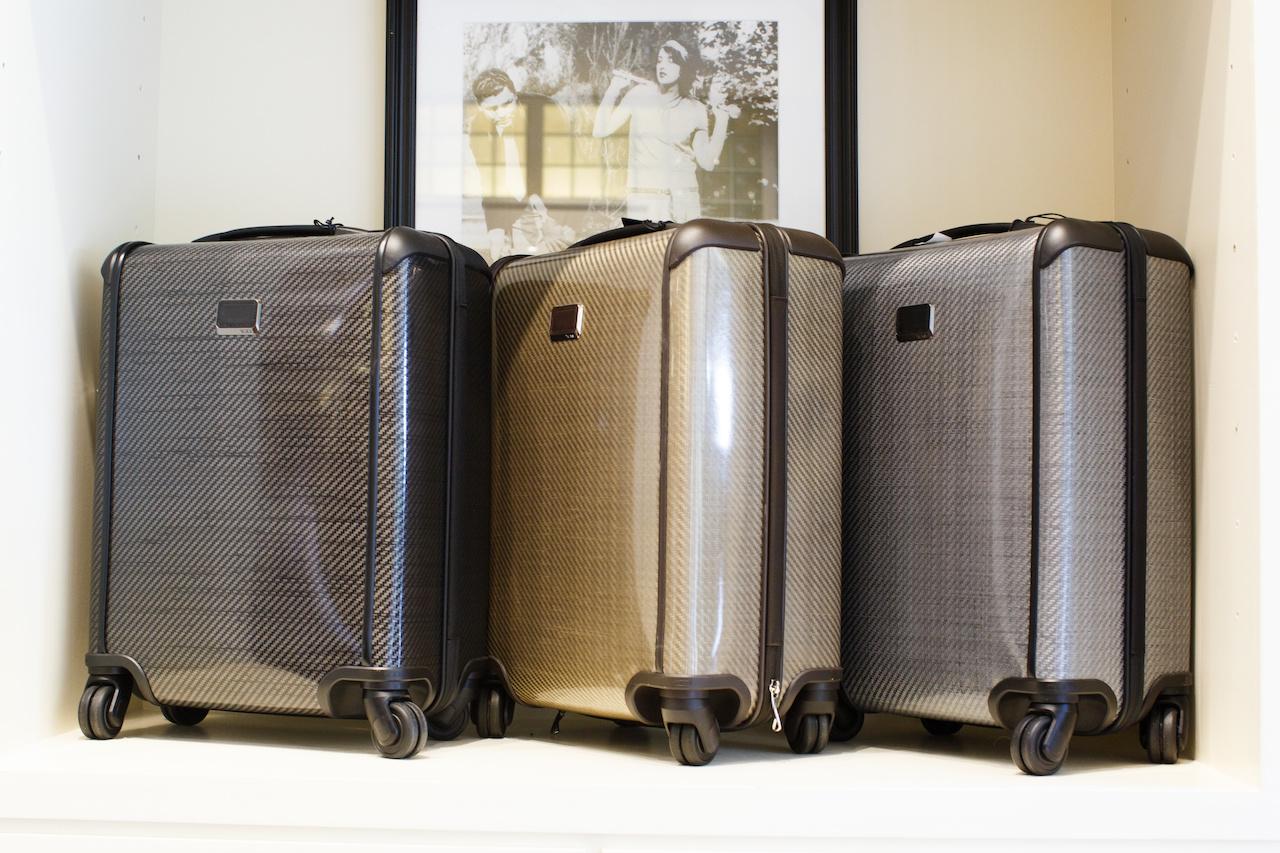 Tumi Tegra-lite Packing case, $725 at James Davis