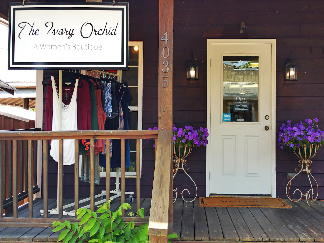 The Ivory Orchid boutique