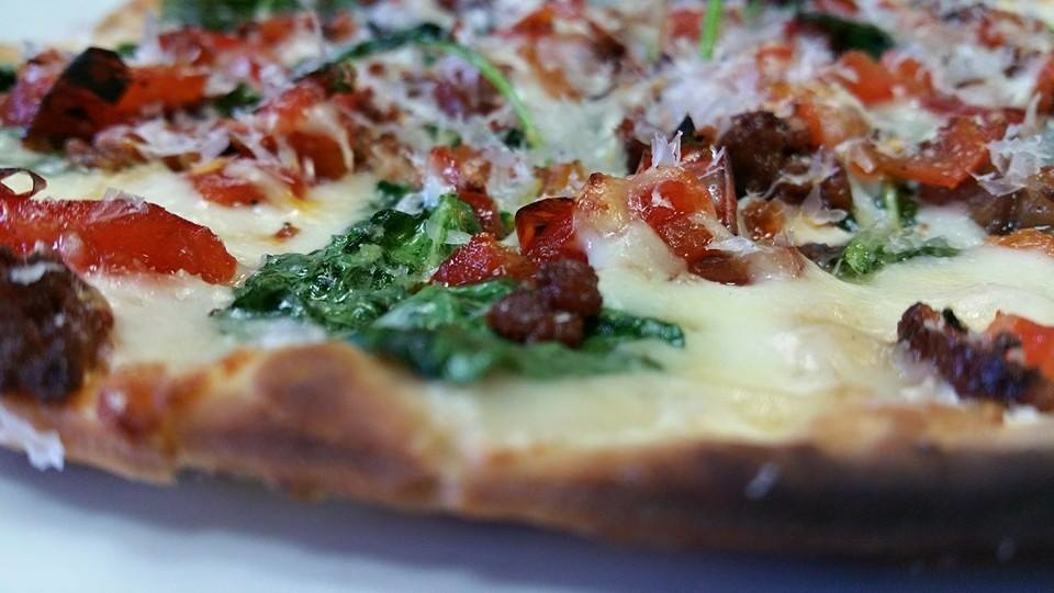 Dive into a pizza during your visit to Paducah