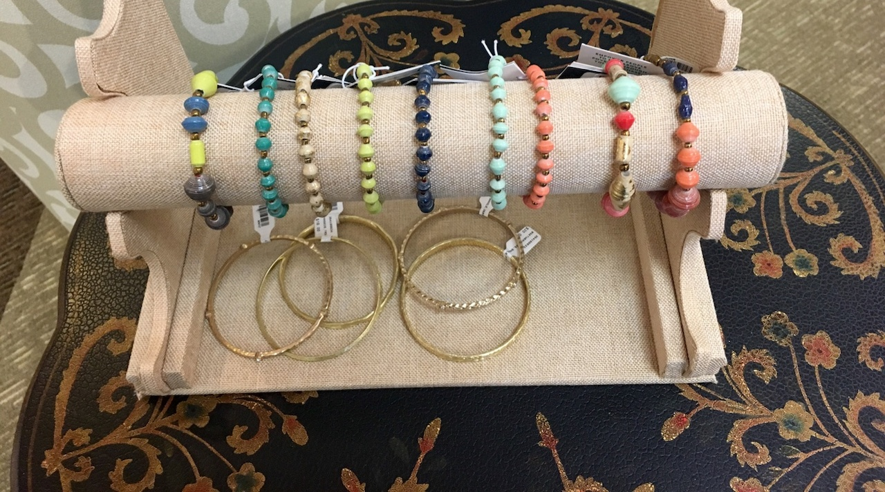 Bracelets and Bangles, ranging from $14 to $24 each at Sachi.