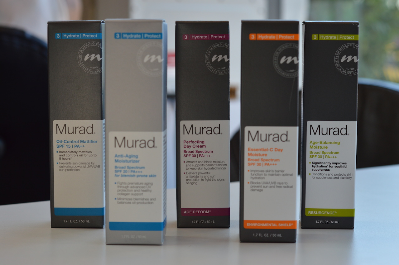 Stay hydrated and protected from the sun's harmful rays with one of these Murad moisturizers from Gould's Salon and Spa, $39 to $79.