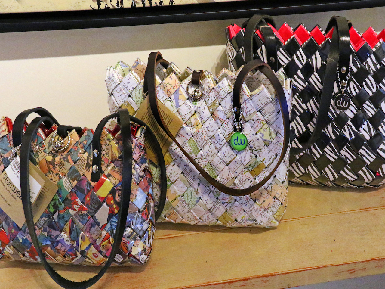 Support local female inmates with these stylish bags at Bennett Galleries!