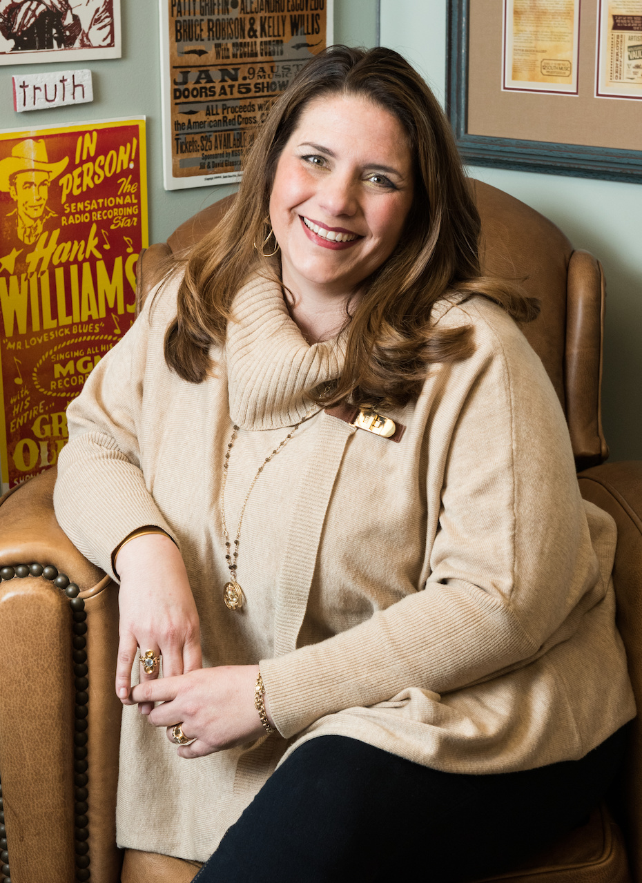Tatum Hauck Allsep, the founder and executive director of Music Health Alliance and today's FACE of Nashville