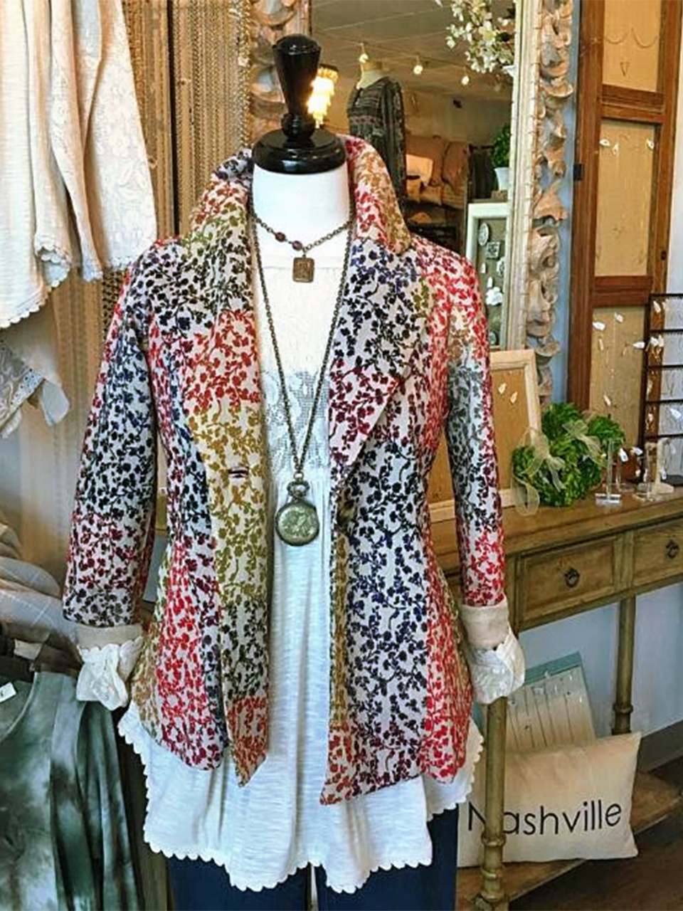 Florals can still be perfect for fall - just in the right colors!