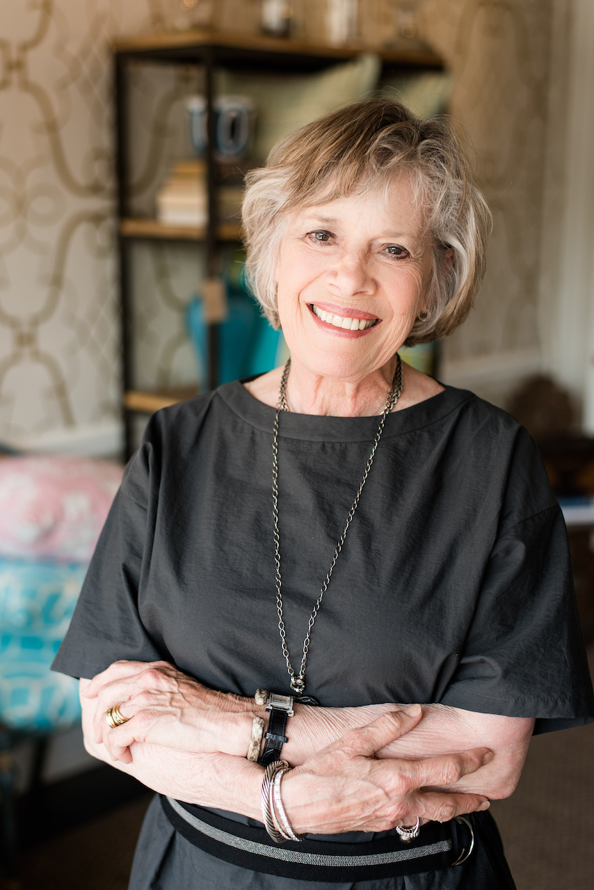 Marjorie Johnston, lead designer of Marjorie Johnston & Co. Interiors and Design and owner of Jojo Home boutique in Mountain Brook Village