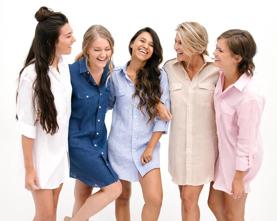 The fabric options for Beg + Borrow shirt dresses are endless. Cotton for spring and summer, flannel for Fall and Winter; you can customize a super comfortable and complementing shirt dress for any occasion.
