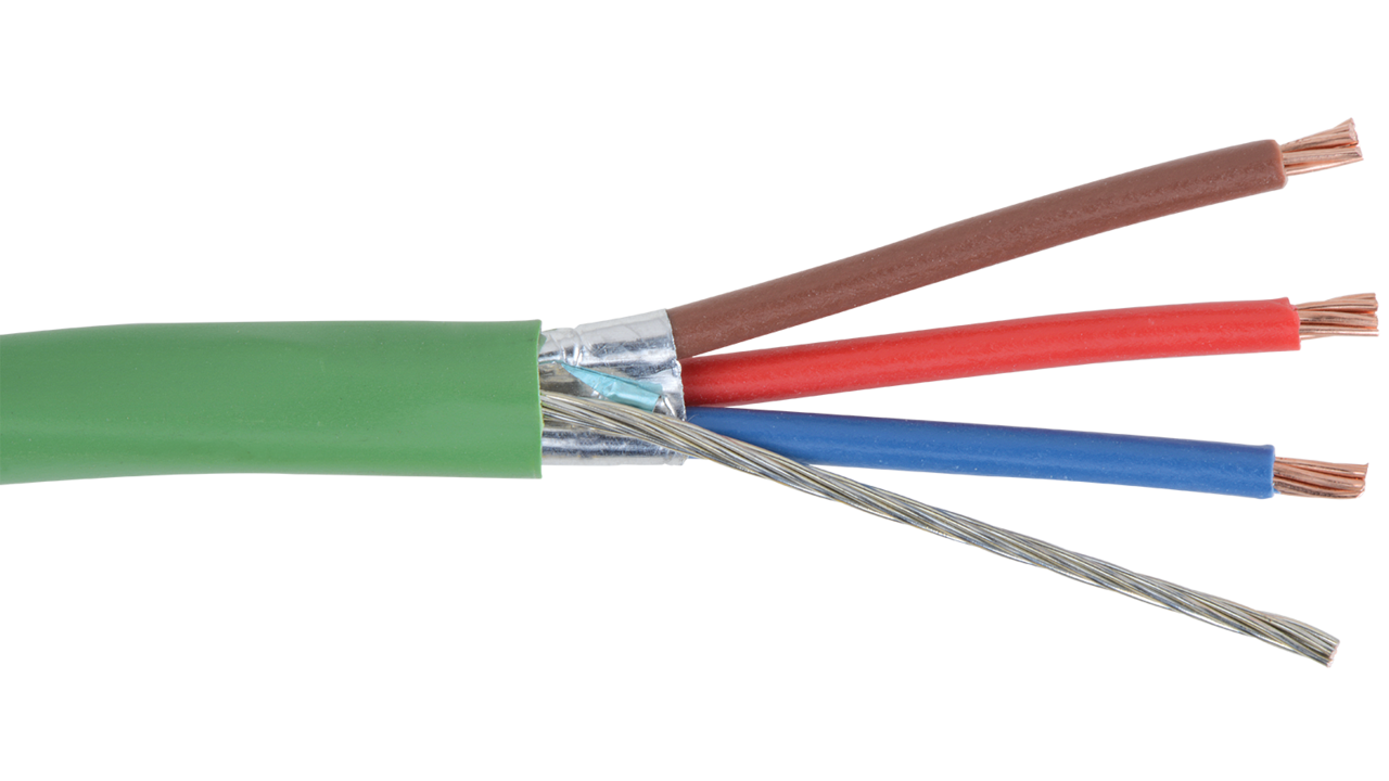 Tektone P2 Nurse Call Power 18 Awg 3 Conductor Shielded Cable Dsl Filter Splitter Wiring Diagram How Does Work