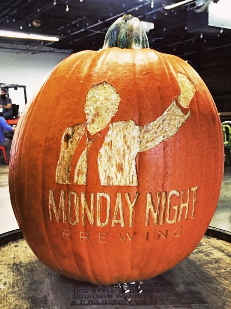 Monday Night Brewing pumpkin styleblueprint atlanta