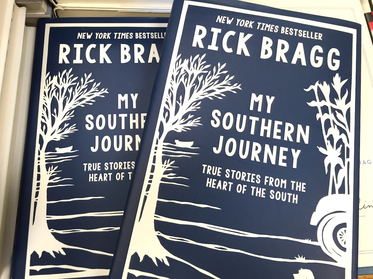 My Southern Journey by Rick Bragg, $18.99 at The Booksellers at Laurelwood.