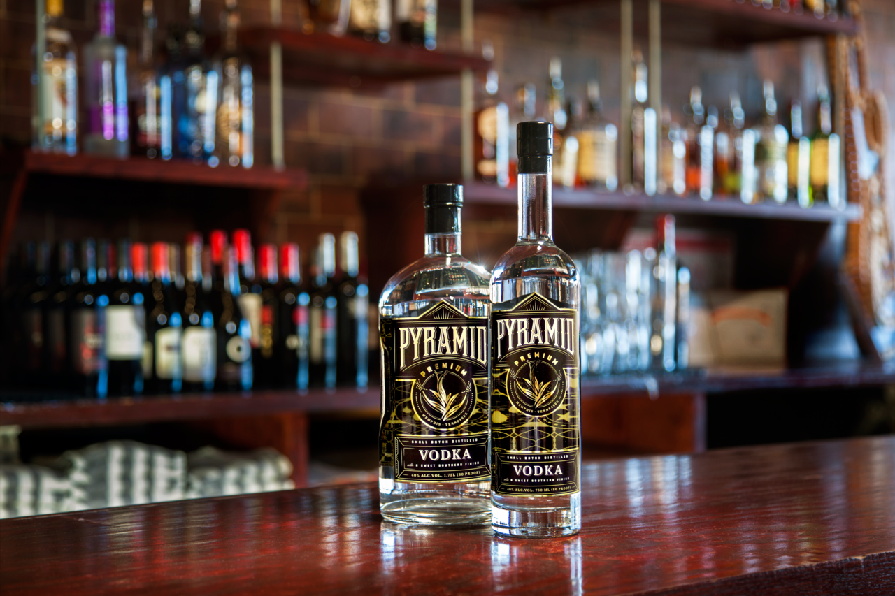 Pyramid Vodka, $27.99 and $19.99, at Buster's Liquors & Fine Wines