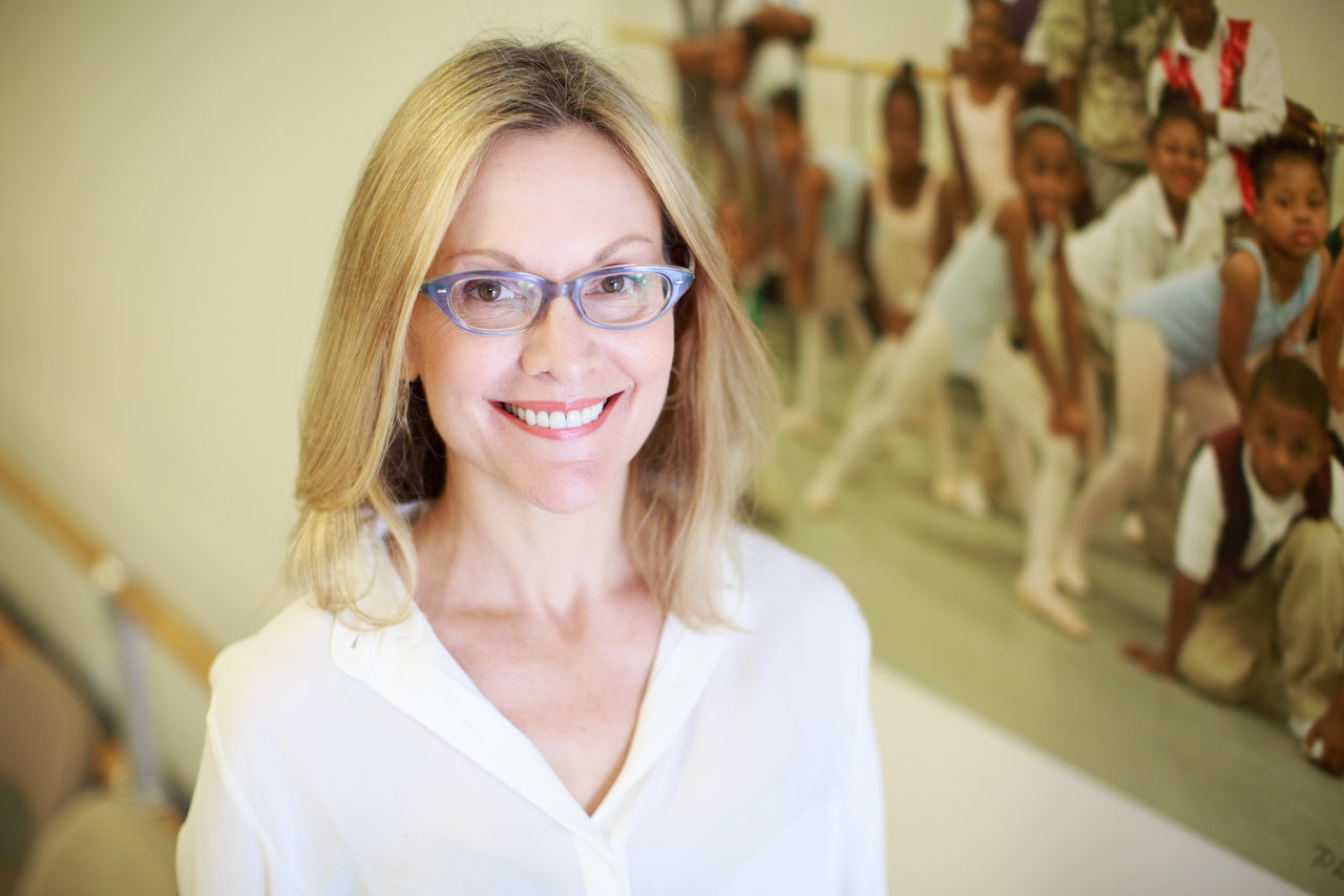 Katie Smythe is the founder of New Ballet Ensemble and School.