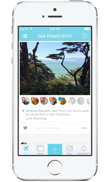 Make travel a fun collaboration with the Tripcast app.